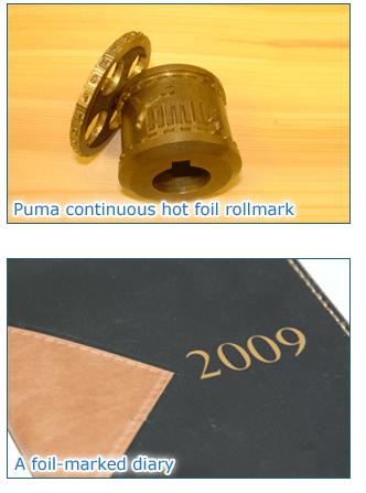 Hot Foil Marking Tools